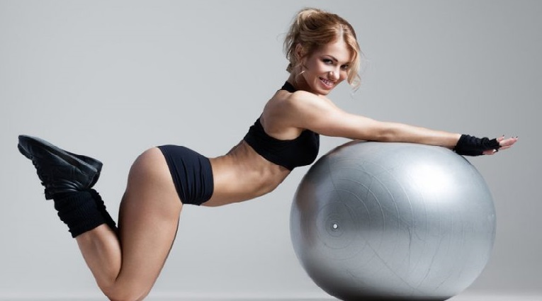 Fitball for weight loss