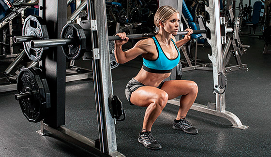 exercises in the gym for girls