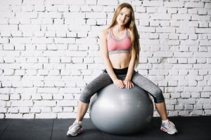 exercises with a fitball