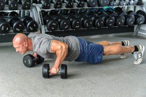 push-ups using stops