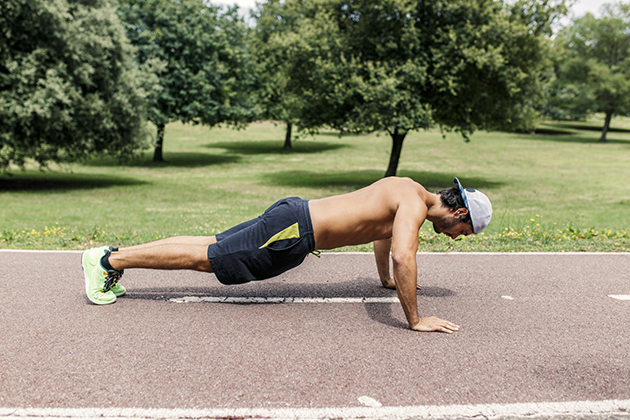 how to do a burpee exercise